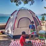 Camping at the Sea of Galilee? This is the only beach you'll need…