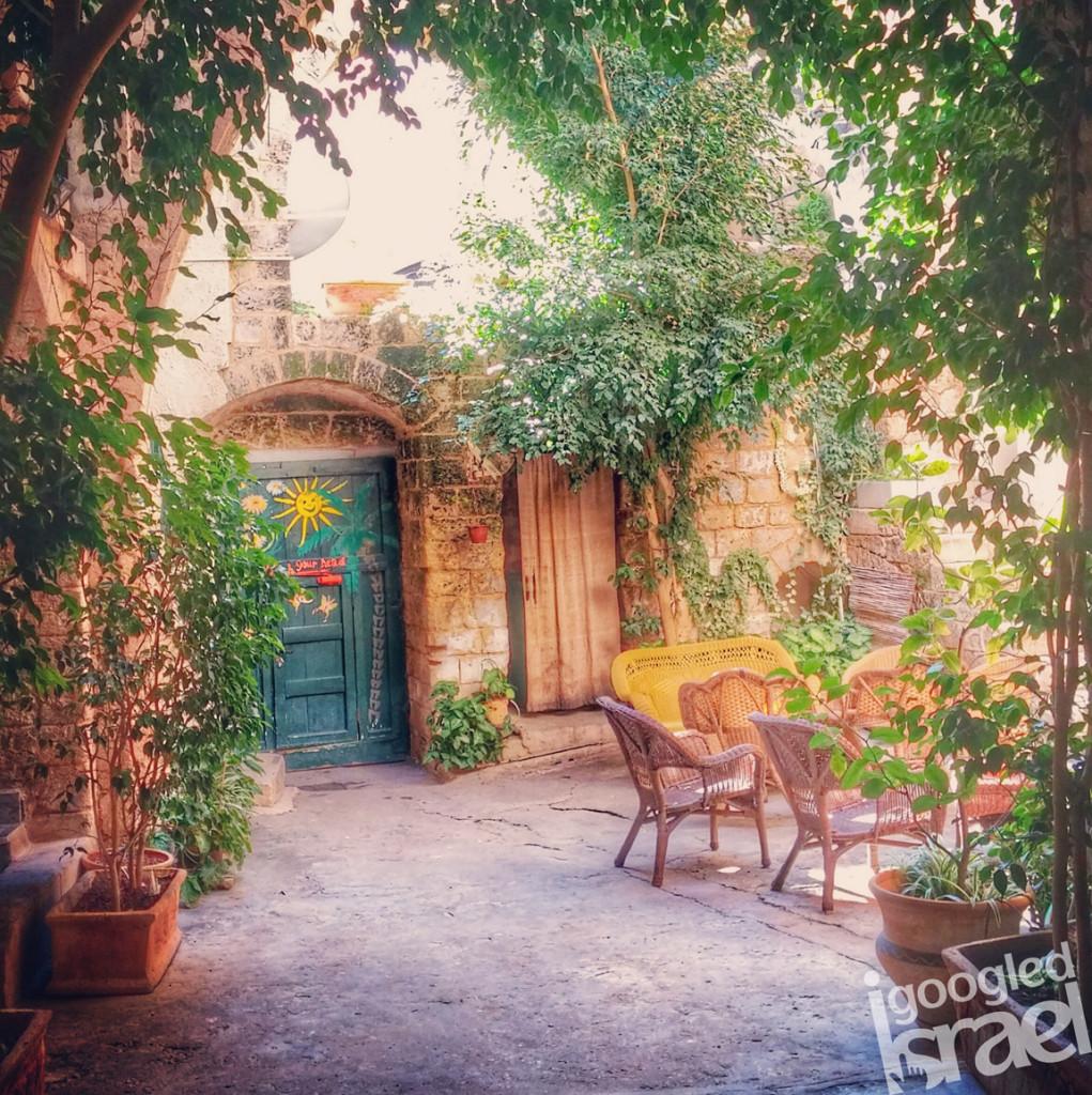 Fauzi Azar courtyard